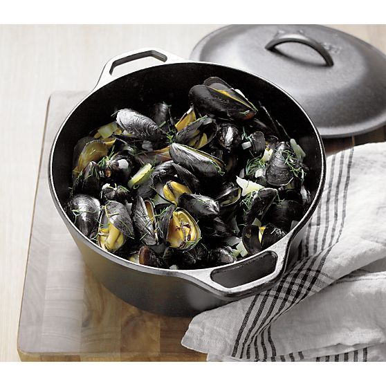 Lodge® Cast Iron Dutch Oven | Crate and Barrel