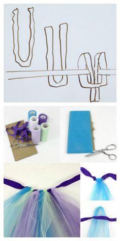 Disfraz de pavo real para niños paso a paso | Secretos de una madre