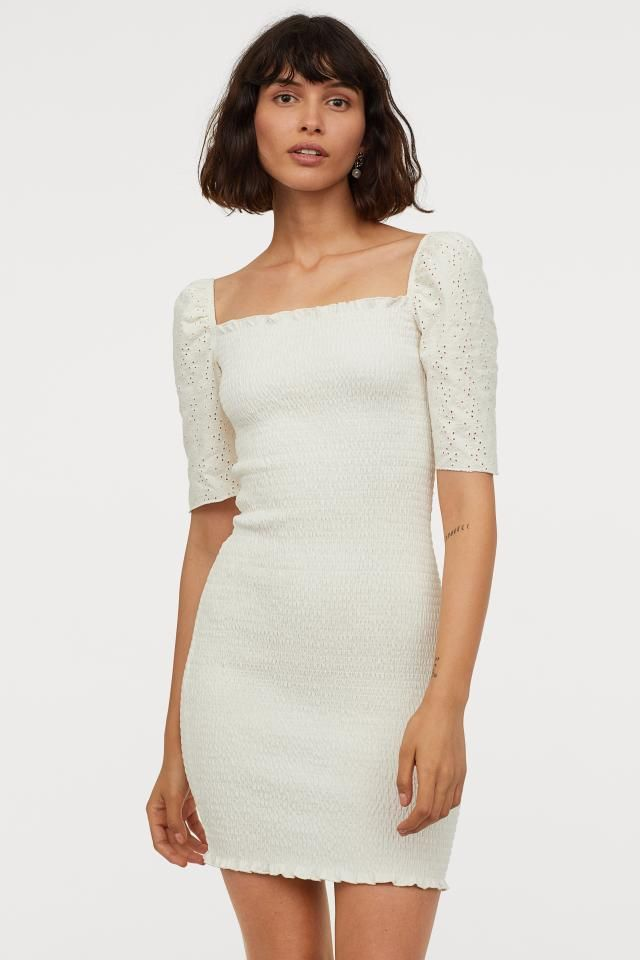 [8+] Cream Kleid