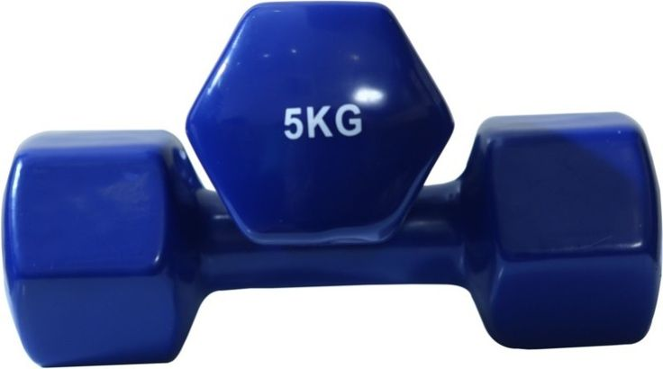 B Fit USA Vinyl Fixed Weight Dumbbell 5Kg (Pack of 2) on January 04 2017. Check details and Buy Online, through PaisaOne.