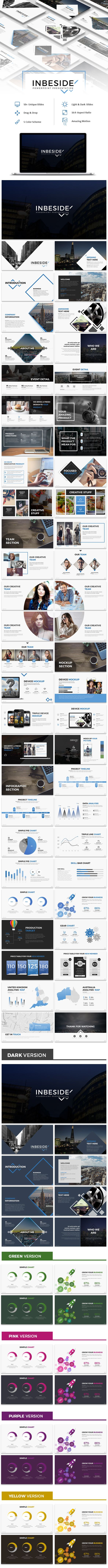 Inbeside Powerpoint Template - Business PowerPoint Templates