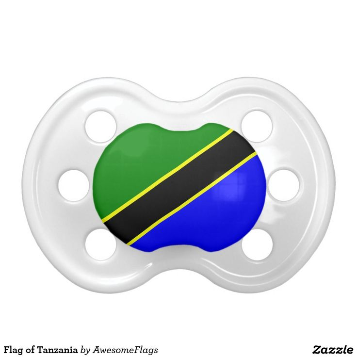 Flag of Tanzania Baby Pacifiers
