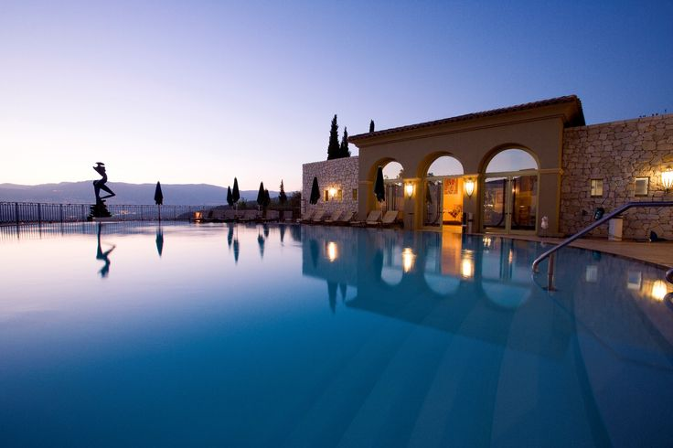 Spectacular views by the infinity pool at Le Mas Candille in Mougins, France.  www.lemascandille.com/uk/index.php