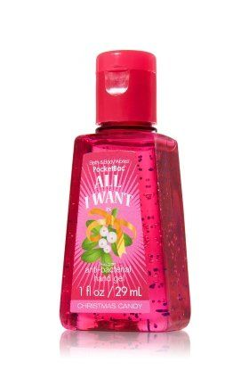 Bath and Body Works Anti-bacterial Pocketbac Sanitizing Hand Gel Christmas Candy $0.05