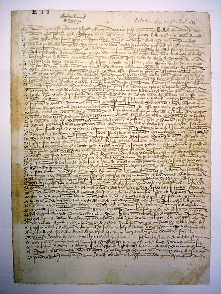 letter to ferdinand and isabella from columbus Colonists : christopher columbus, first letter to luis de santangel regarding the first voyage (1493) christopher columbus, letter to ferdinand and isabella regarding the fourth voyage (1503.