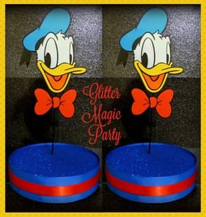 Donald Duck - Lollipops or Cakepops Stands - Donald Inspired Party - SET OF 2