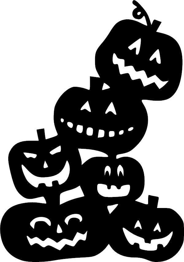 Картинка для хэллоуина шаблон