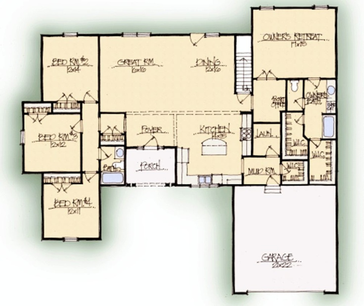 Schumacher homes heathcliffe home design favorites for Schumacher homes house plans