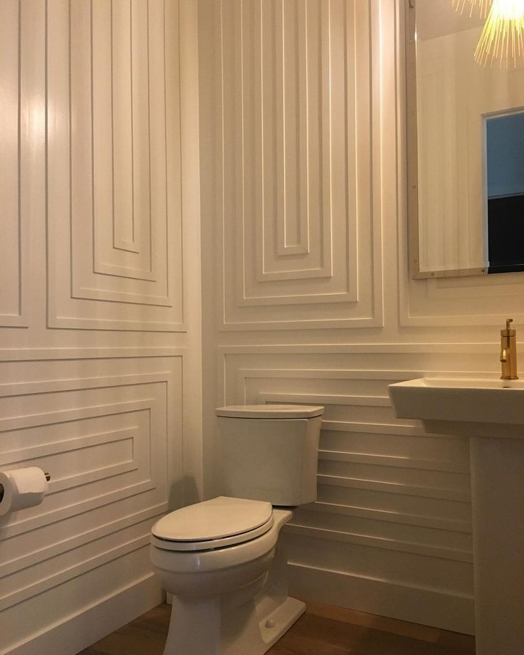 Une salle de bain audacieuse! / Bold bathroom desi…
