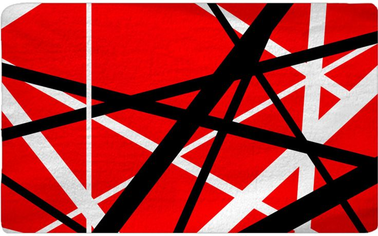 Red White Black Abstract Pattern Other Colors Available
