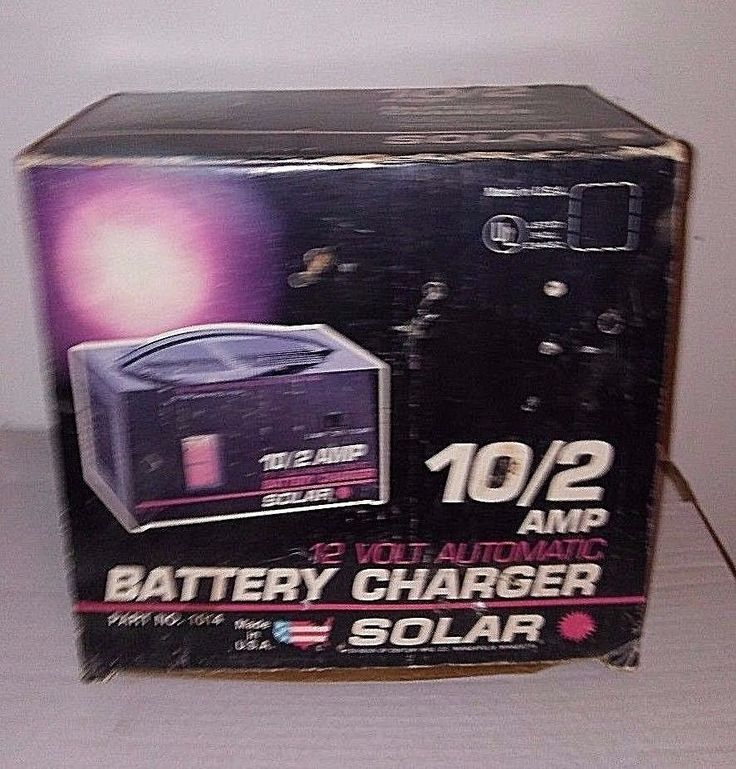 Century Solar 10/2 Amp 12 Volt Automatic Battery Charger