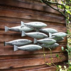 Metal Fish Wall Art - Not on the High Street - Great for my nautical backdrop