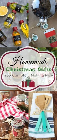 25+ Homemade Christmas Gift Ideas. Food gifts, beauty gifts, diy gifts, fun gifts