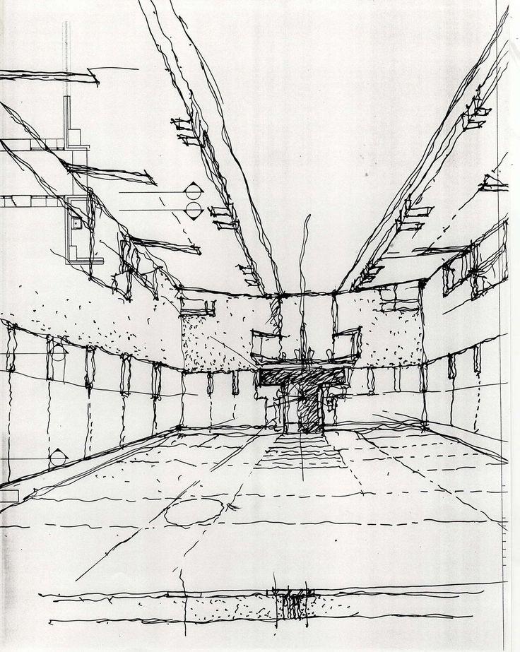 George Ranalli Architect Sketch For Saratoga Avenue Community Center On Architizer