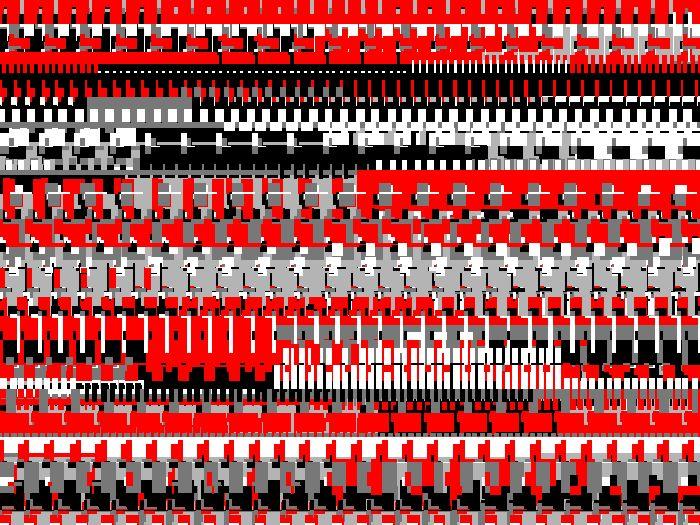 Frank Richter, tracking bots 31.8000.966, c-print, 1996 (generative art)