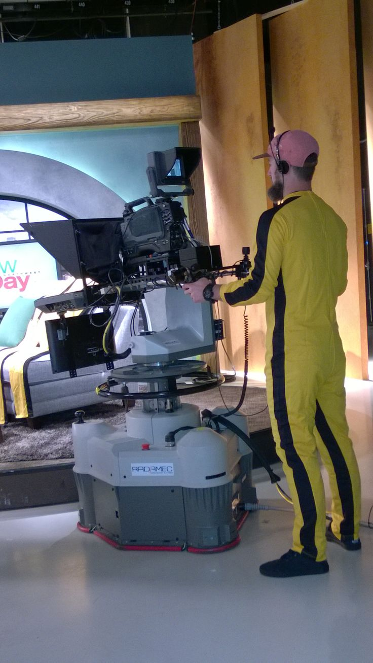 Behind the scenes jumpsuit: even when its not on camera, its on camera