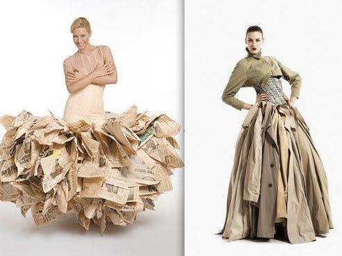 recycled fashion collection ideas 19