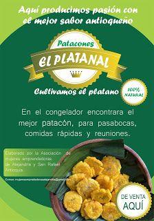 Patacones el Platanal - Cultivamos plátano en Antioquía: PATACONES EL PLATANAL FABRICAMOS  PRECOCIDO CONGEL...