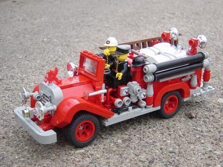 1920s Fire Engine 002 | ReBrick | From LEGO Fan To LEGO Fan