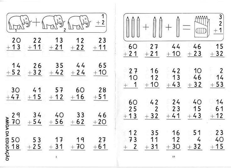 Atividades de alfabetização : Matemática: soma e adição