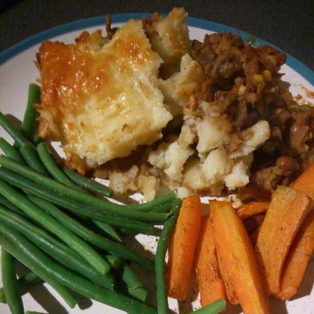 My dinner. Slimming world cottage pie
