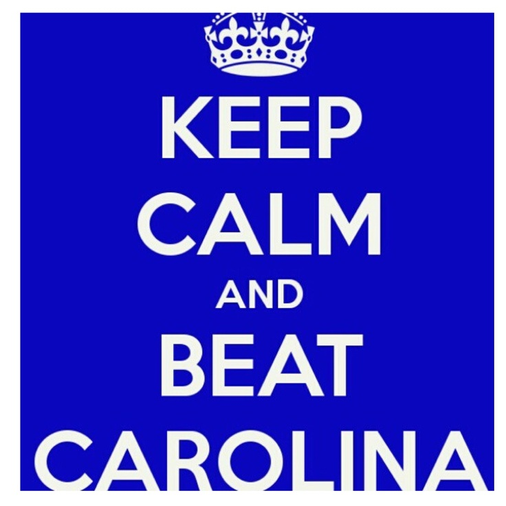 Beat Carolina!!! Duke Basketball!!!