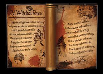 Dark Magic Spell Book