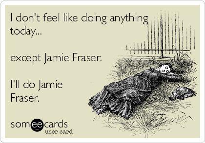 Jamie Fraser - LOL!!!! #Outlander