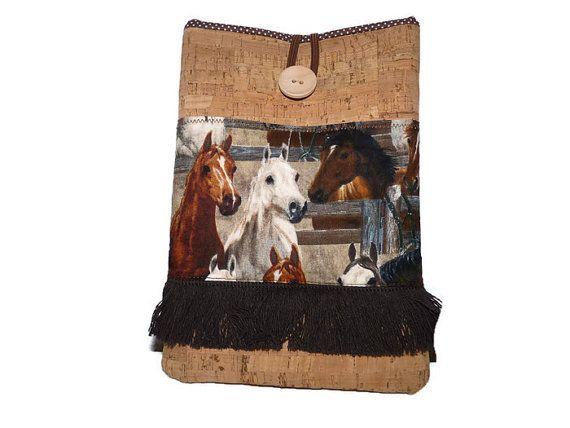 iPad mini 4 sleeve / iPad mini Padded case / Horses by Driworks