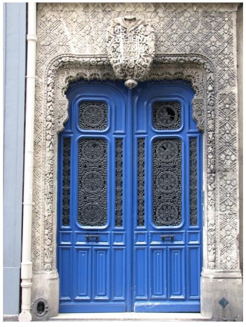 door: Beautiful Blue, Blue Doors, Doorways Ornate, Doors Portals Hardware, Doors Windows Gates, Doors Art, Beautiful Doors Handles