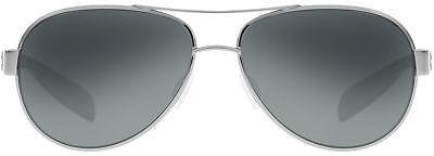 Native Eyewear Haskill Polarized Sunglasses Chrome / Gloss Black / Gray/Gray One