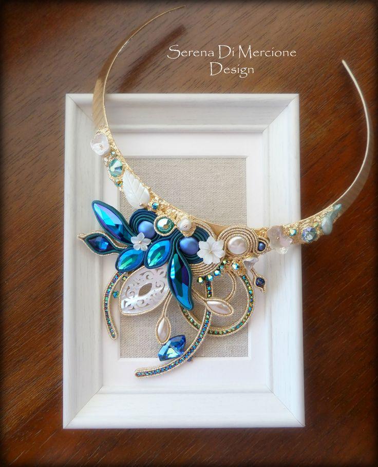 Soutache necklace  by serena Di Mercione