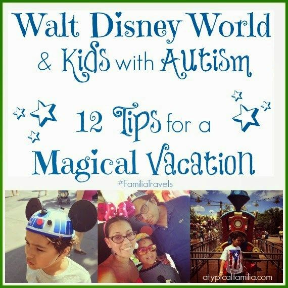 Planning a Walt Disney World vacation when your child has autism takes a little extra time, preparation and understanding. Here are 12 Tips that will help.