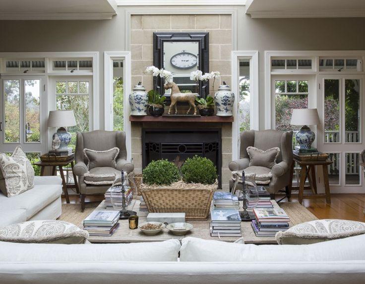 Cottage Style Family Room Part - 49: Living - Marco Meneguzzi Design - Interior Design