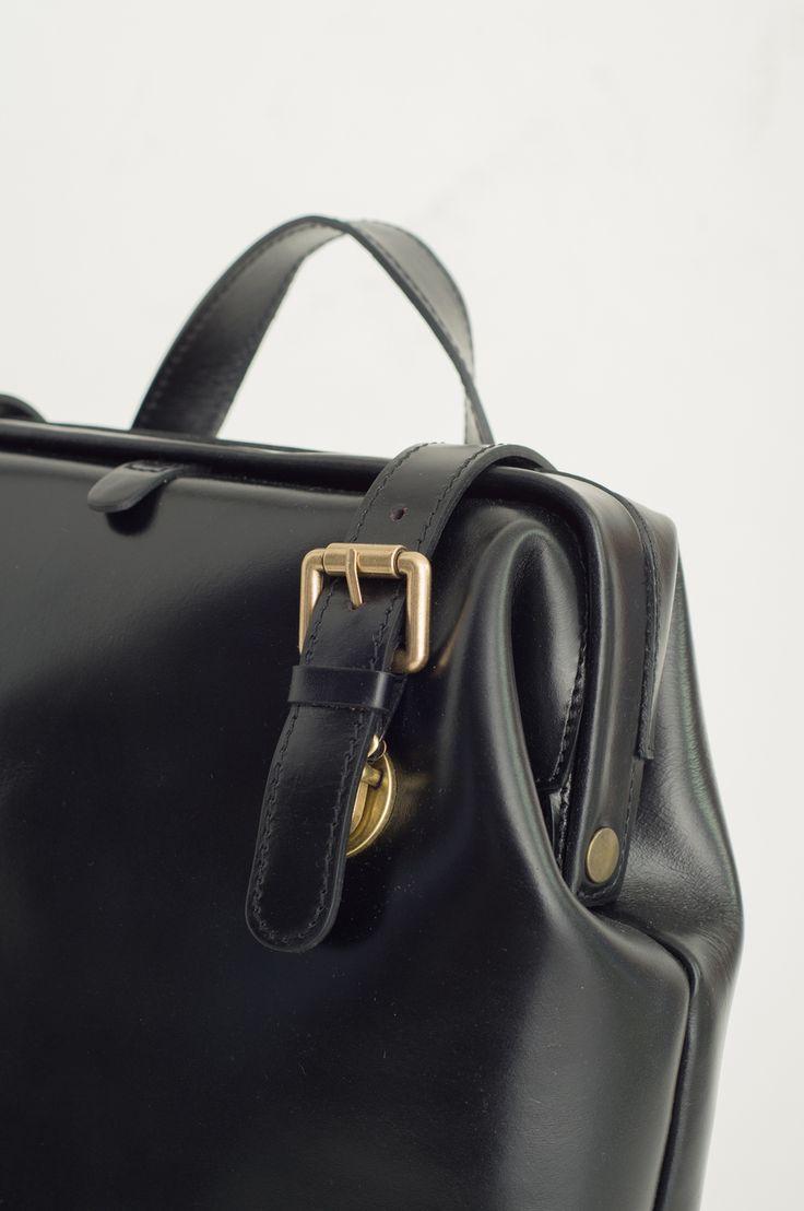 Olive - Gladstone Backpack, Black, £179.00 (http://www.oliveclothing.com/p-oliveunique-20151105-071-black-gladstone-backpack-black)