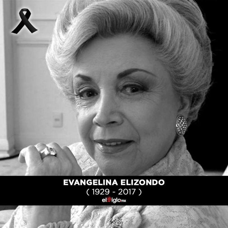 La actriz Evangelina Elizondo murió a los 88 años.