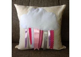 Cloud and Ribbon Cushion