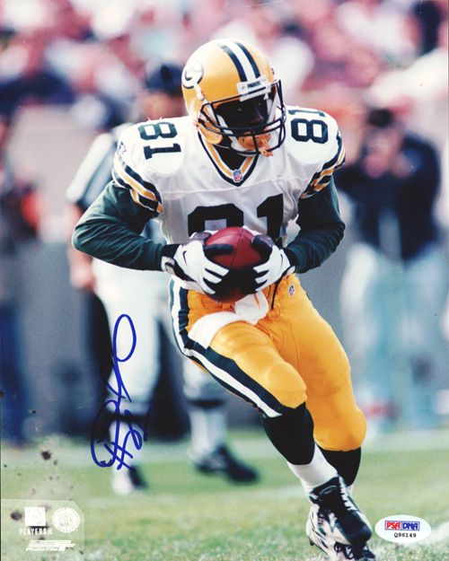 Desmond Howard Autographed 8x10 Photo Packers PSA/DNA