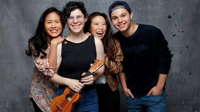 Rebecca Sugar, Zach Callison, Deedee Magno Hall and Michaela Dietz stop by the L.A. Times studio to talk 'Steven Universe' and sing some songs.
