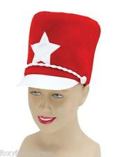Majorette Hat Little Drummer Boy Toy Soldier Cheerleader Fancy Dress Panto
