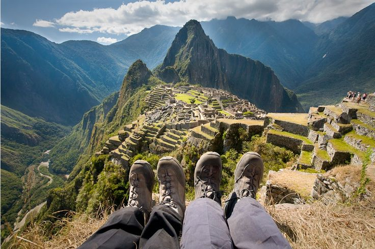 """""""Picnic with a view... Wish you were enjoying lunch here instead of stuck at the office?  Read more on our 'Flavours of Peru' experience: http://advwrld.com/1rFjSb0 #extraordinaryAW #peru"""""""