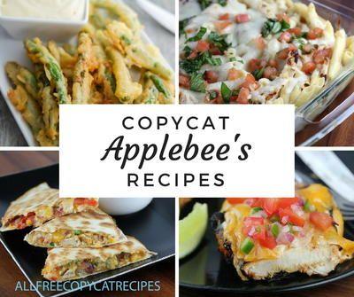 24 Copycat Applebees Recipes
