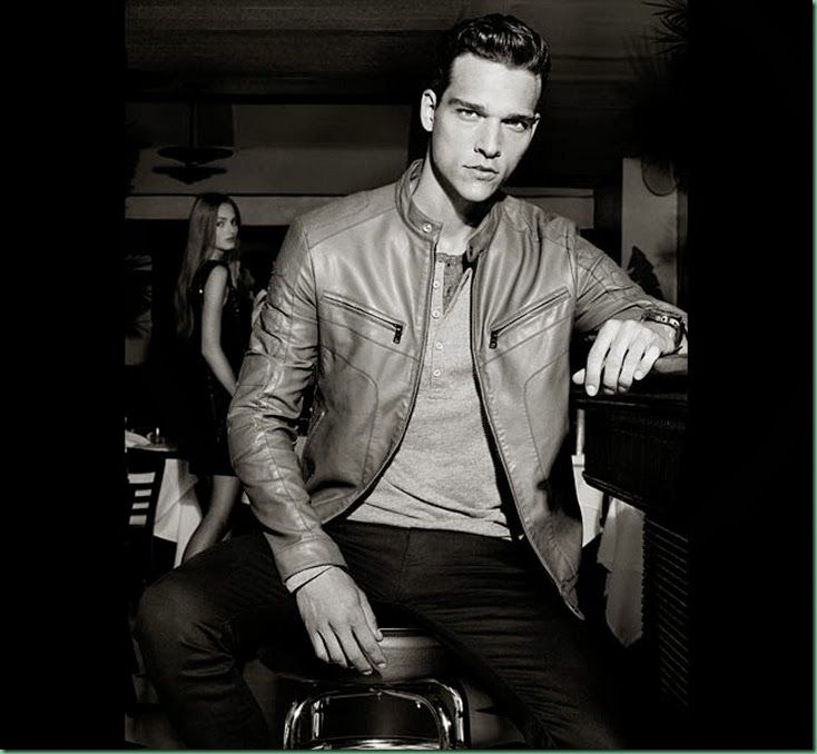 Alex Cunha & Simon Nessman for Armani Exchange