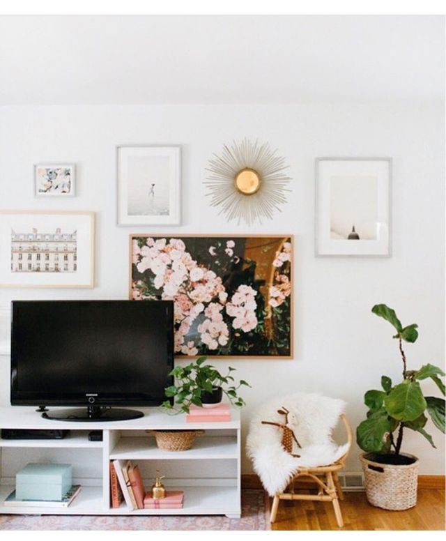 Friday Finds Working Trends Into Your Home Decor: 17 Best Ideas About Wall Behind Tv On Pinterest