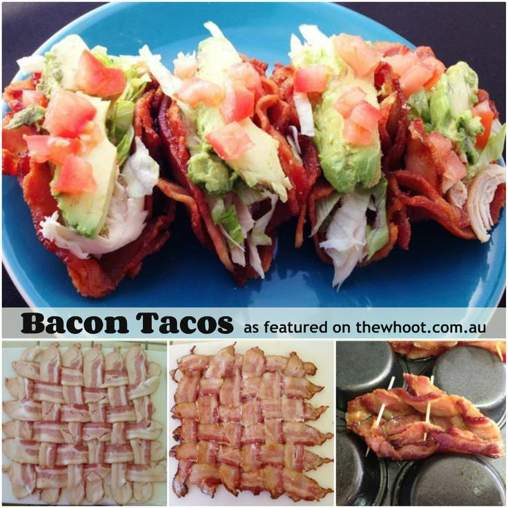 bacon tacos | food | Pinterest