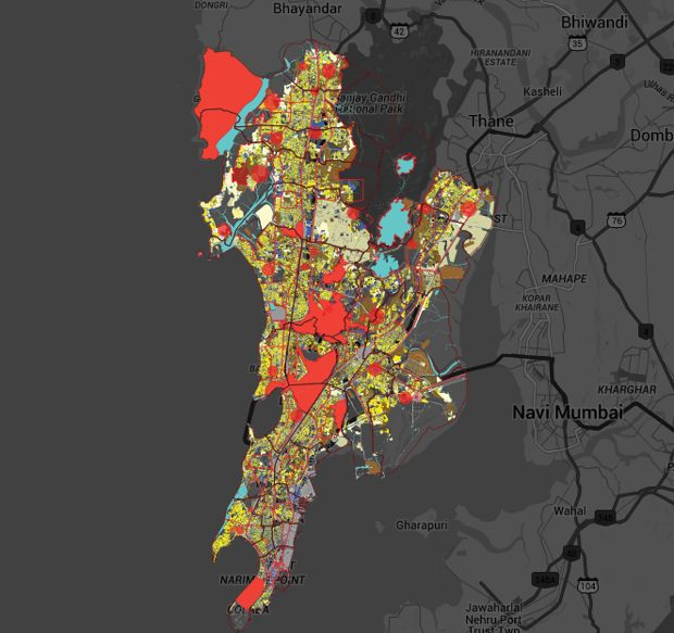 An Interactive Land-Use Map of Mumbai: http://www.citylab.com/housing/2016/03/the-much-needed-land-use-map-of-mumbai/474951/
