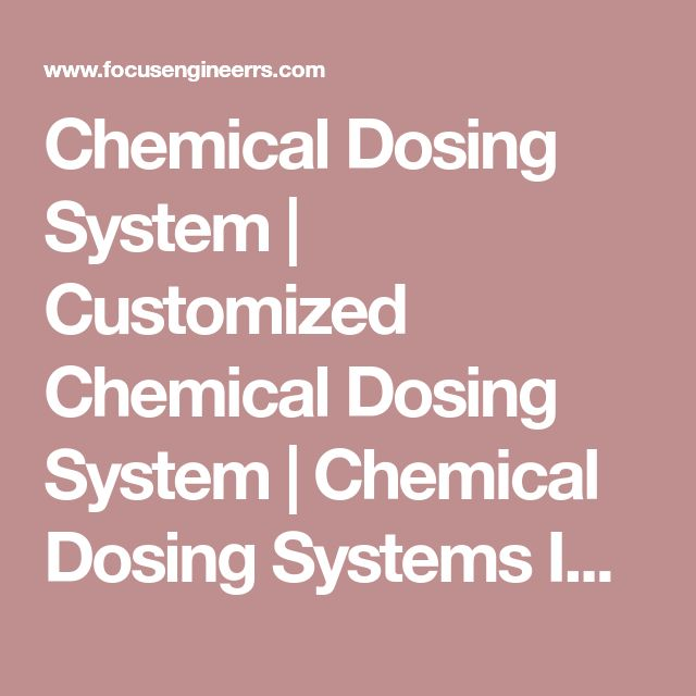 Chemical Dosing System | Customized Chemical Dosing System | Chemical Dosing Systems India | Chemical Dosing & Metering Pumps System | Chemical Dosing System for Water Treatment Equipments | Chemical Dosing Pump Manufacturer in India | Chemical Metering Pump Manufacturers in India | Industrial Chemical Dosing Systems | Focus Engineerrs