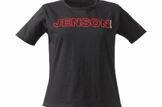 McLaren T-SHIRT Formula 1 F1 McLaren Mercedes L NEW! Button M Black ladies t-shirt featuring Jenson Buttons name on the front and back and the team logo on the sleeve http://www.comparestoreprices.co.uk/formula-1-merchandise/mclaren-t-shirt-formula-1-f1-mclaren-mercedes-l-new!-button-m.asp