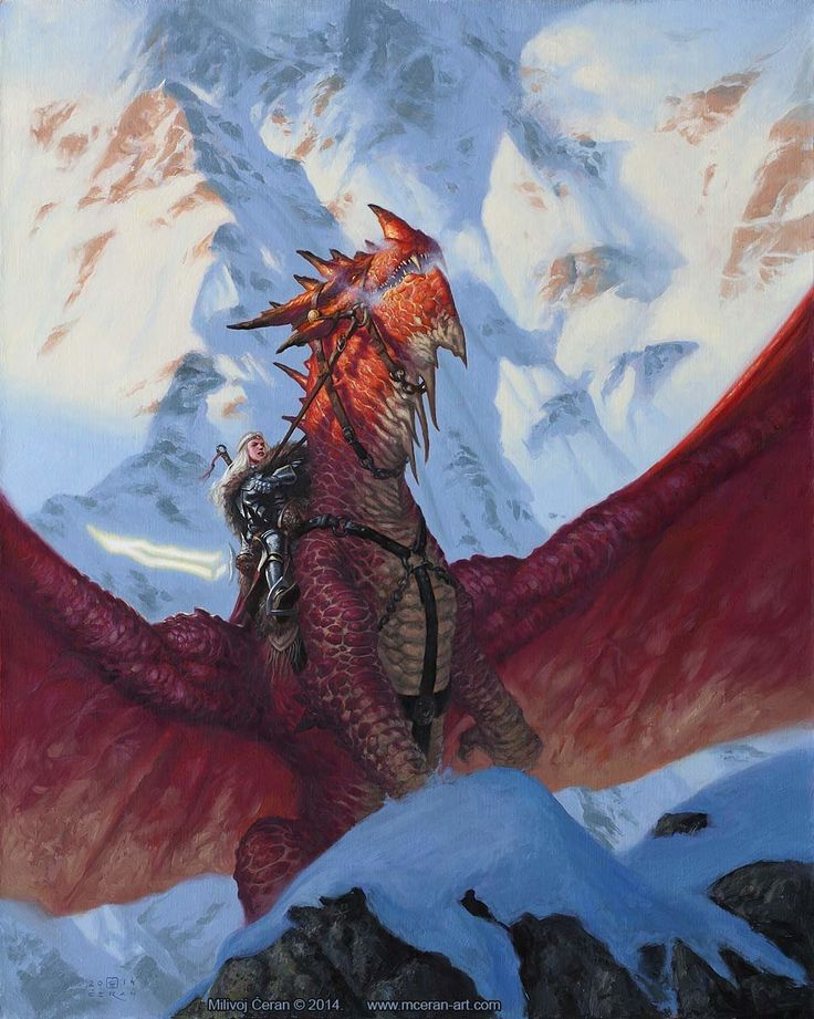 Dragon de guerre Rouge-Epine