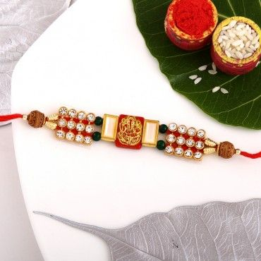 Traditional Ganesh Rakhi rakhi online shopping